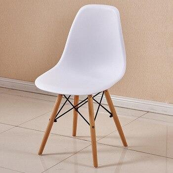 Venta caliente nórdico breve Silla de comedor blanca de madera y sillas  modernas de plástico muebles de restaurante sillas de oficina Casuales >>  ...