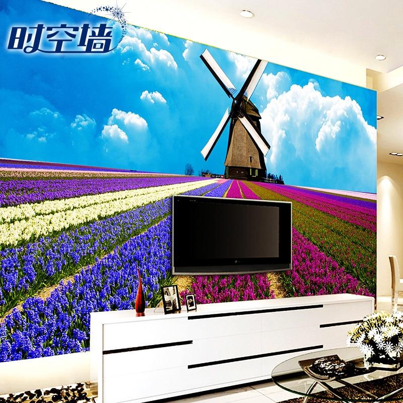 2015 modem customize wallpaper bedroom living room marriage room TV ...