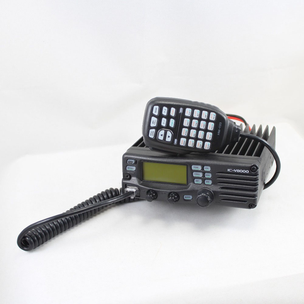 Original IC V8000 75W high power 144MHz VHF FM TRANSCEIVER v8000 2 meters Mobile Radio Long Distance vehicle mounted radio-in Walkie Talkie from Cellphones & Telecommunications    1
