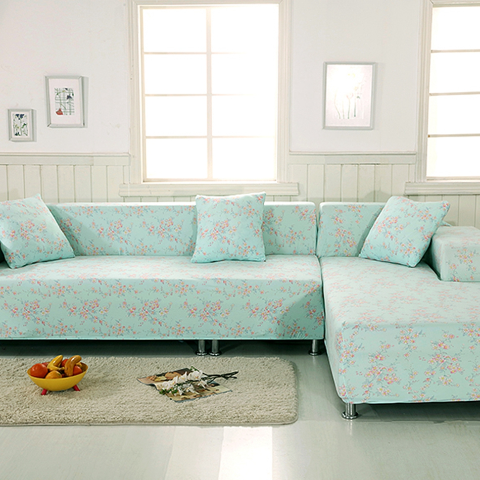 Corner sofa slipcover corner sectional sofa slipcover for Light green sectional sofa