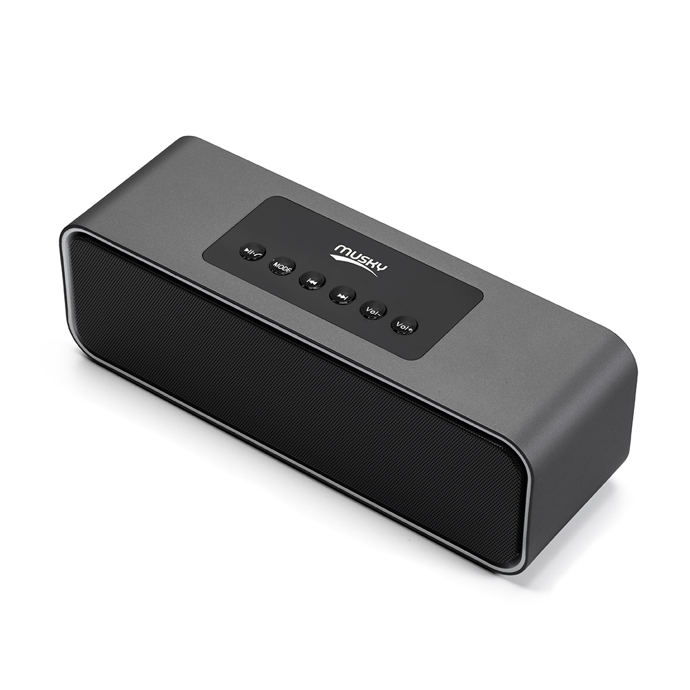 Musky DY22L Wireless Bluetooth Speaker 10W Portable Wireless Speaker Sound 3D Stereo Music Surround Support TF AUX speakersMusky DY22L Wireless Bluetooth Speaker 10W Portable Wireless Speaker Sound 3D Stereo Music Surround Support TF AUX speakers