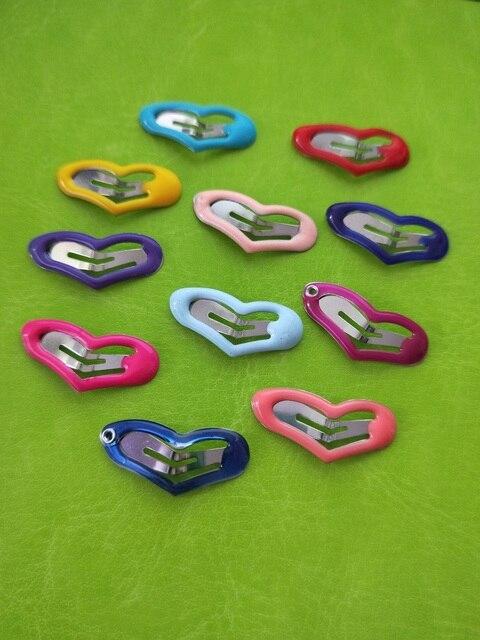 Купить 10 шт/50 шт/25 шт/лот сердечки зажимы для домашних животных