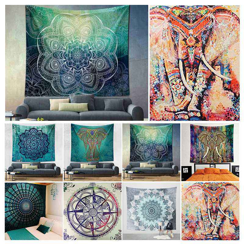 Popular Boho Style Home Living Tapestry Beautiful Room/Bedroom Decor Multi Functional Hanging Blanket 180*230cm
