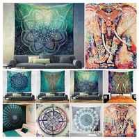 Popular Boho Style Home Living Tapestry Beautiful Living Room/Bedroom Decor Multi Functional Hanging Blanket 180*230cm