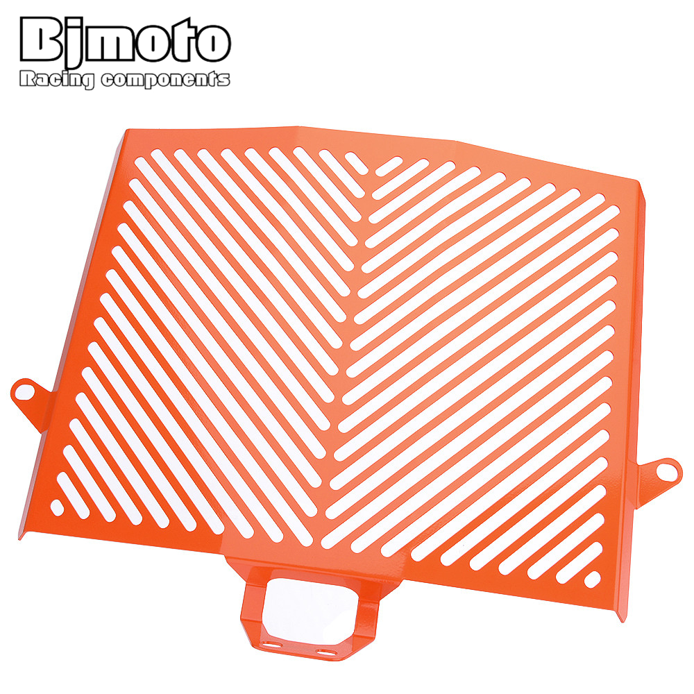 Bjmoto For KTM 1050 1190 1290 Adventure 2013 2014 2015 2016 2017 motorcycle cnc Radiator Side Guard Grill Grille Cover Protector motorcycle stainless steel radiator guard protector grille grill cover orange black for ktm duke 390 2013 2014 2015 duke 125 200