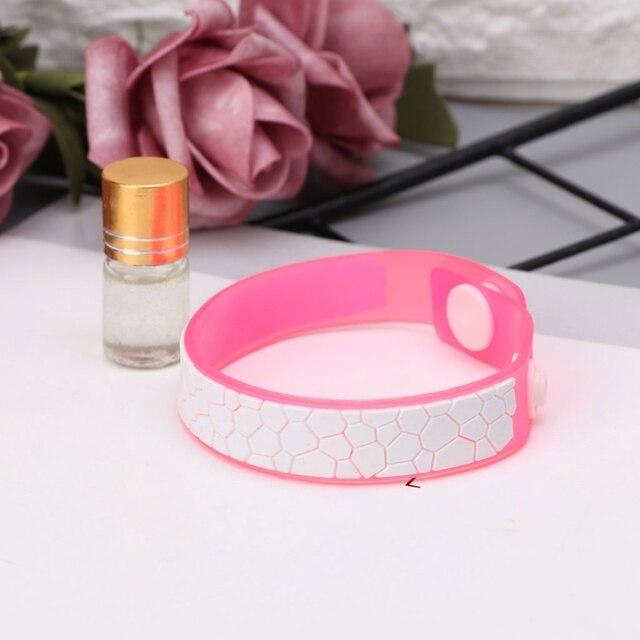 Bracelet Anti Moustiques en silicone aux huiles essentielles 2