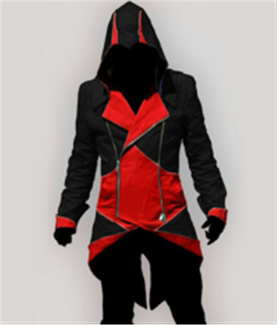 Assassins Creed Costume Cosplay Conner Kenway Hoodie Jacket Tracksuit Novelty Sweatshirt Hoody Plus Size Cloak Jacket Men  2