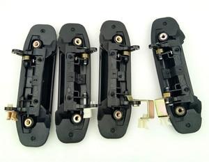 Image 4 - 4pcs Full Set Car Front Rear Outer Door Handle Black for Mitsubishi Pajero Montero V31 V32 V33 V43 V46 V47