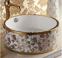 Europe type lavatory. Table face basin ceramic art basin. The stage basin sink of the basin that wash a face