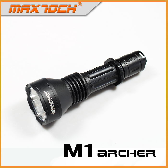 MAXTOCH Compact-Size Hunt-Torch Flashlight Shooter Archer SST-40-W 2X 18650 of Led-One