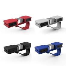 High-grade Double Car Sunglasses Holder Sun Visor Clip Car Holds Sunglasses Versatile Case Use Premium Fashion Design