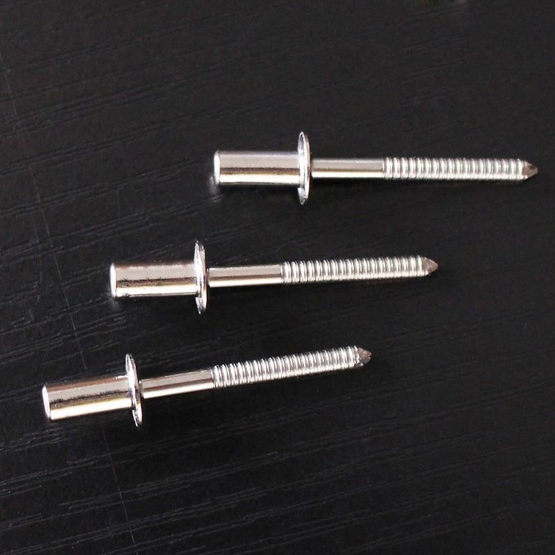 50pcs M4.8x10mm Close End Rivets 304 Stainless Steel Hollow Rivet Rivets Rivetti Sealed Rivets