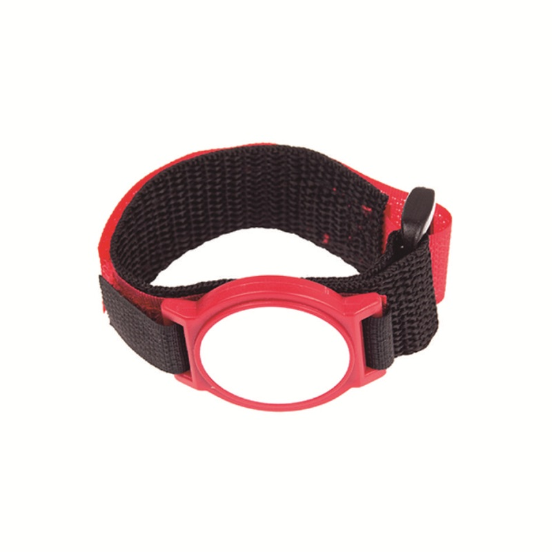 600pcs Custom Nylon Wristband With 125khz TK4100 Chip RFID Bracelet