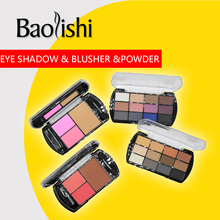 baolishi eyeshadow+blusher+powder 12colors of the matte shade palette Combination eye shadow suit Professional Eye Makeup