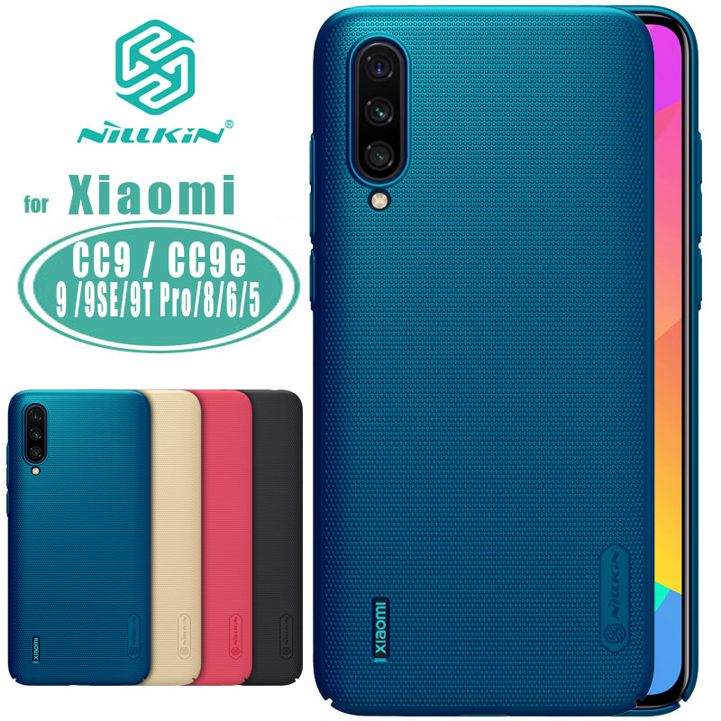 Nillkin for Xiaomi Mi CC9 CC9e Case Cover Super Frosted Shield Hard Back Case for Xiaomi Mi 9 SE 9T Pro Mi 8 SE Mi5 Mi6 Case