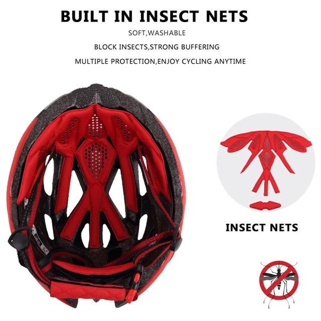 Phmax capacete ultraleve para ciclistas, 2020, capacete de ciclismo com cobetura eps + pc para bicicletas de montanha, mtb e estrada, moldado integralmente tampa segura 5