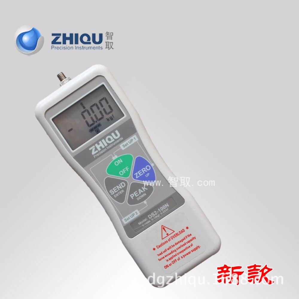Ds2 50n high precision digital display tension meter for Schreibtisch 2 50 meter
