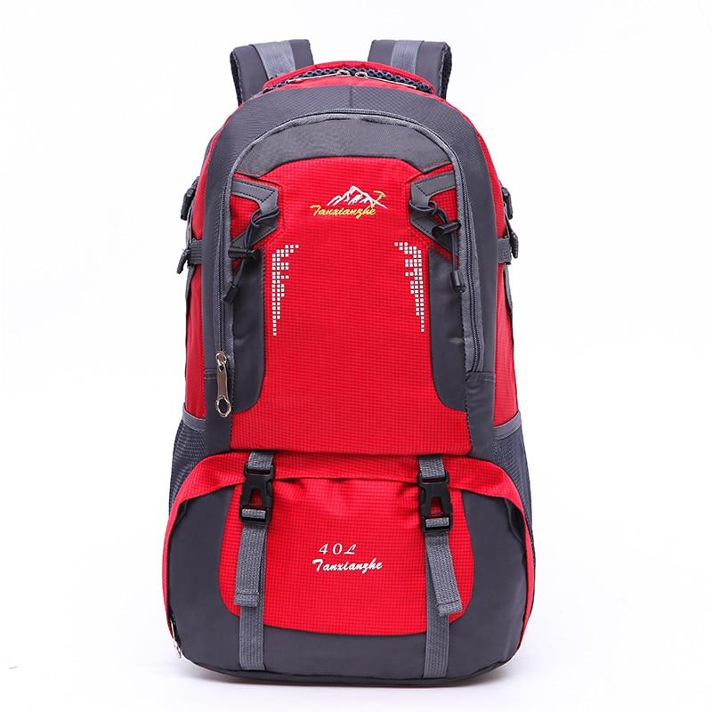 ФОТО 2016 New Nylon Fashion bags 40L Trekking Backpack professional travel bag daily Multifunctional backpacks CW8610