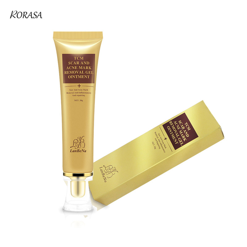 LANBENA Acne Scar Cream Ginseng Essence Anti Acne Remover Cream Face Care Makeup Spots Stretch Marks Remove Scar Product 11
