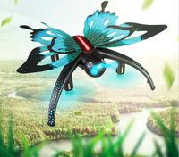 WIFI real time RC drone H42 HD camera attitude hold 3D roll animal simulation butterfly remote control helicopter with LED light