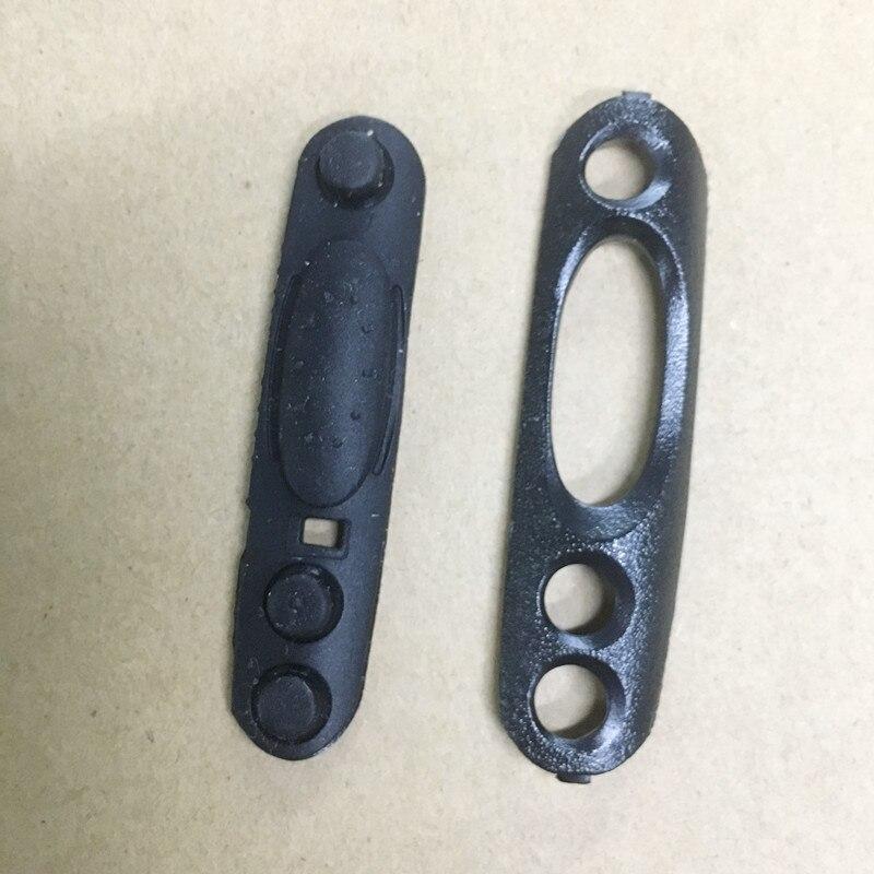 Le caoutchouc touche PTT bouton avec de verrouillage PTT pour MOTOROLA GP328, GP338, GP340, GP680, GP640 MTX850, PTX760, PRO5150, HT750 etc talkie walkie
