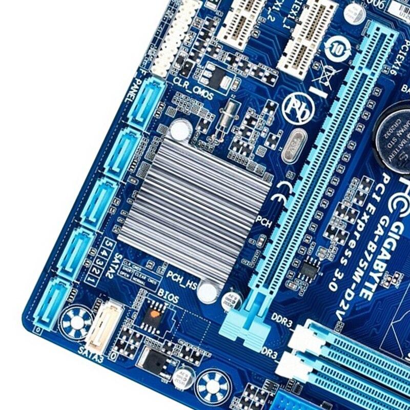 Gigabyte B75M-D2V B75 LGA 1155 Motherboard I//O