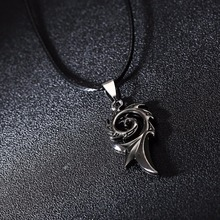 Dragon Flame Titanium Necklace
