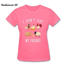 """I Don't Eat My Friends"" women's t-shirt / 10 Colors"