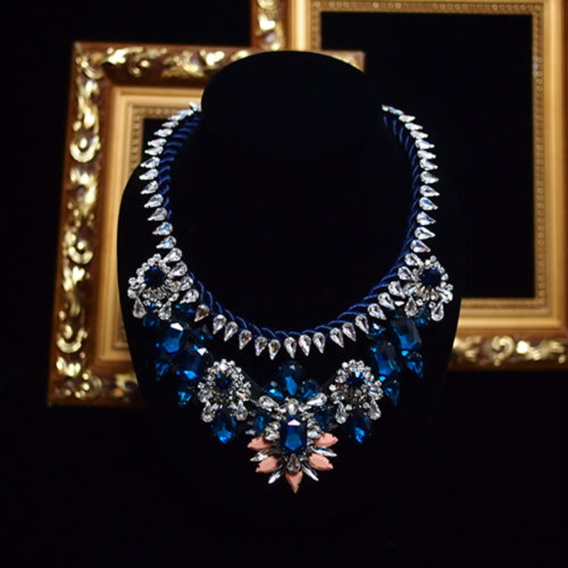 residence major suit high set counters million Baroque full luxury retro dinner exaggerated statement Necklace girlfriend gift