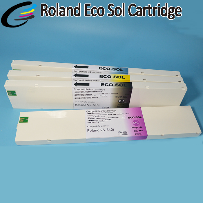 US $87 92 |Roland Versacamm VS640i VS540i VS300i Eco Solvent Ink Cartridge  440ML with Chip-in Ink Cartridges from Computer & Office on Aliexpress com