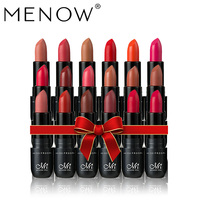 MENOW 18 PCS Make up set High Pigmented lipstick Waterproof Lasting Kiss proof Purely Matte Lipstick Make up Cosmetic kit 5449