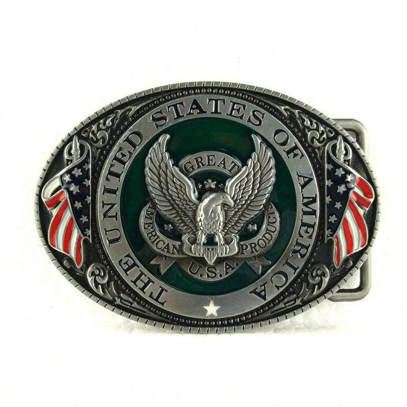 Retail Usa Eagle Belt Buckle Metal Cowboy
