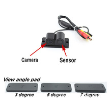 цены 170 Degree Viewing Angle HD Waterproof Car Rear View Camera with Radar Parking Sensor 2 in 1