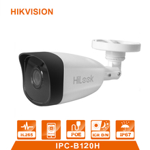 Hilook IPC-B120H Bullet 2MP videcam POE IP Camera video surveillance alarm systerm for home CCTV camera signaling Motion sensor