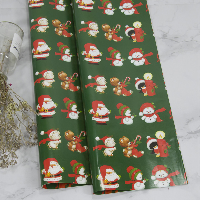 10pcs christmas decoration gift box wrapping paper diy handmade paper bag gift cover cartoon color paper in gift bags wrapping supplies from home - Handmade Paper Christmas Decorations