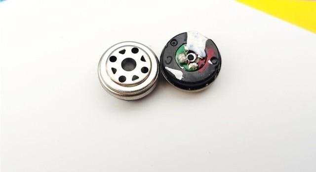 DIY headphone unit Genuine carbon nano-diaphragm unit 10MM fever ear unit Good bass