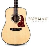 Ücretsiz nakliye Bir üst düzey sitka ladin kaplama akustik gitar, 41 inç pikap sistemi akustik katı üst halk gitar profesyonel