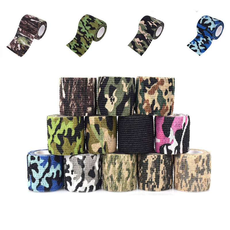 Army Camo Wrap Outdoor Gun Hunting Tape Stealth Camouflage Self-adhesive Tapes
