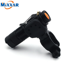ZK30 LED Bicycle Light 2000LM Flashlight 3 Modes CREE Q5 LED Cycling Front Light Bike lights Lamp Torch Waterproof Zoomable