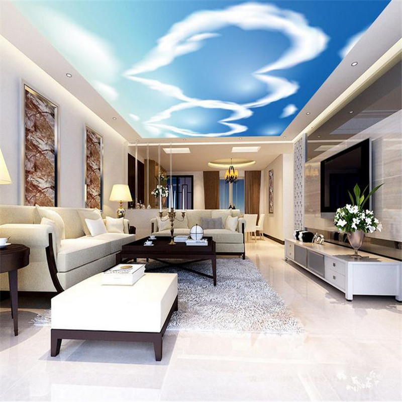 modern custom 3d minimalist wallpaper stereoscopic living room large background ceiling wall mural cloud heart pattern wallpaper custom photo wallpaper 3d stereoscopic sky ceiling cloud wallpapers for living room mural 3d wallpaper ceiling