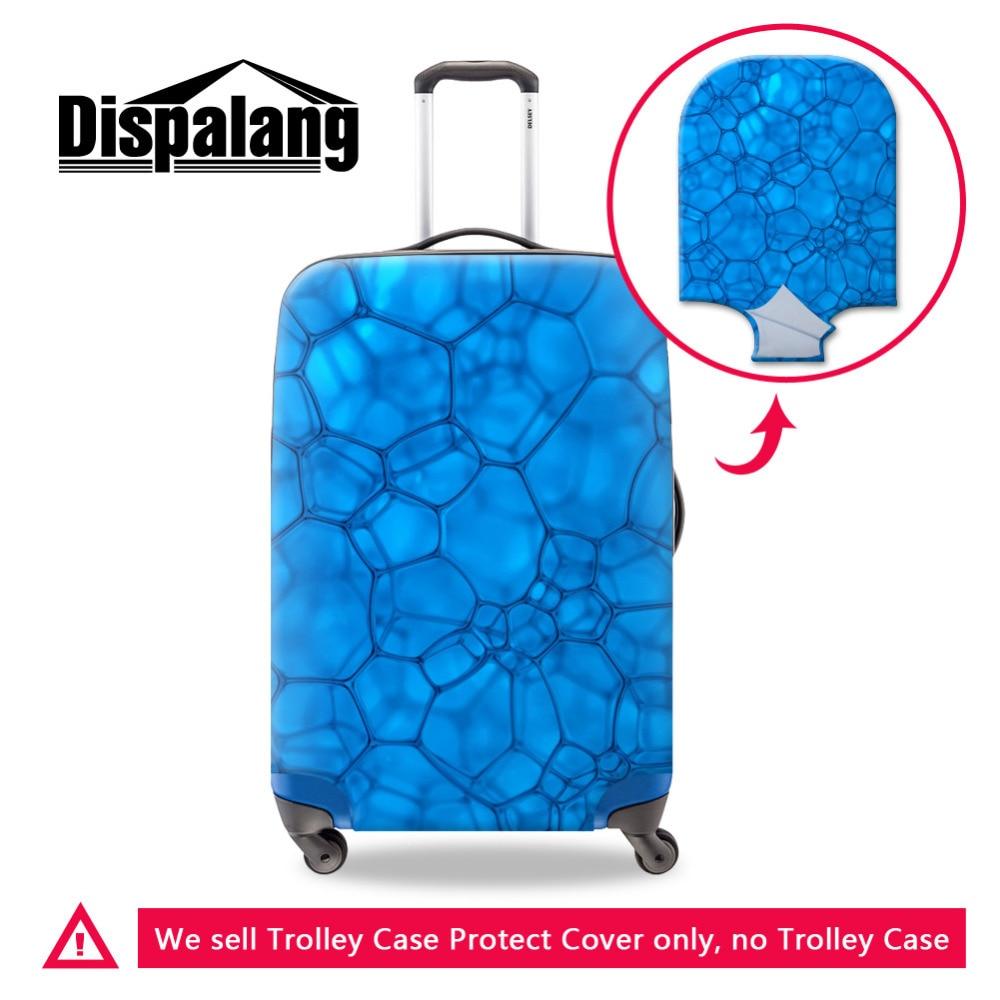 Бренд Портативный эластичные Чемодан крышка blue water cube стрейч защита чемодан Крышка применить к 18-30 дюймов случае Туристические товары