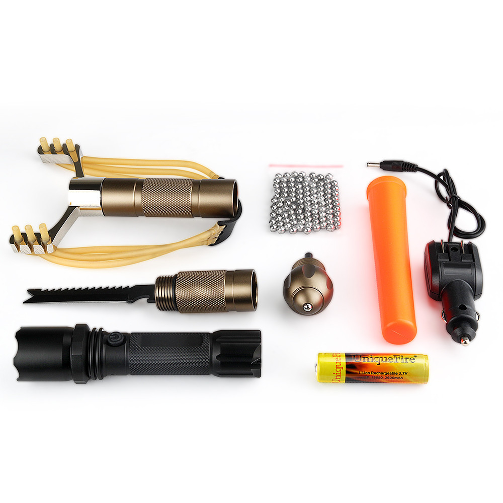 Uniquefire Outdoor Emergency Equipment SOS Kit Emergency Supplies SOS Outdoor Camping Survival Tool Survival free shipping