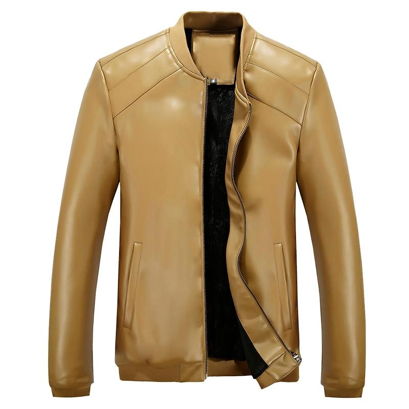 տաք վաճառք նոր տղամարդկանց կաշվե - Տղամարդկանց հագուստ - Լուսանկար 6