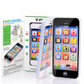 Electronic Phone English Learning Mobile Phone Cellphone with LED Y-phone Baby Mobile Early Educational Learning Toy