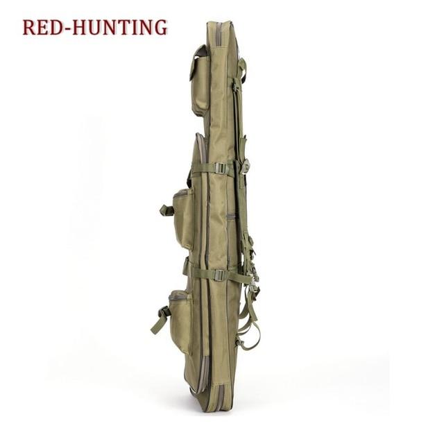 85cm/95cm/120cm Tactical Rifle Gun Shotgun Carry Case Bag Backpack Military Hunting Bag mud Army Green 4