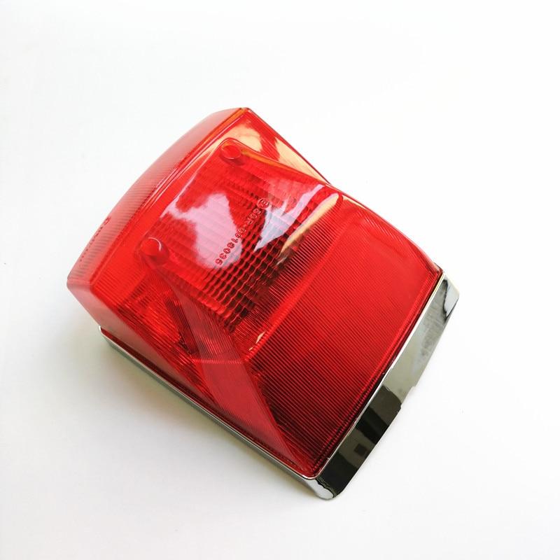 VESPA LML STAR STELLA DELUX PX 125 150 200 CHROME LED REAR LAMP TAIL LIGHT