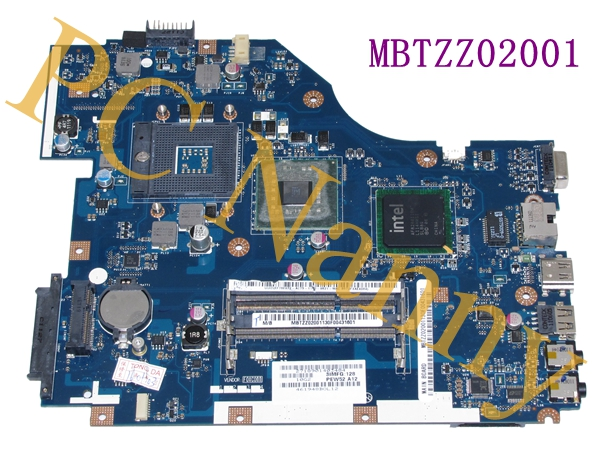 ФОТО MBTZZ02001 LA-6631P PEW72 motherboard For acer aspire 5736z laptop motherboard GM45 tested
