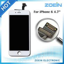 2015 Hotsale Grado AAA 4.7 pulgadas Reemplazo Pantalla LCD Para iphone 6 display con pantalla táctil digitalizador asamblea negro blanco