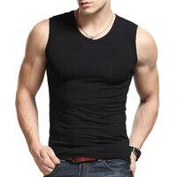 Brand 2016 Summer Men S Casual Tank Tops Gym Vest Cotton Sport Sleeveless Fitness Men Bodybuilding