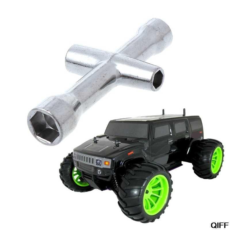 Drop Schip & Groothandel RC HSP 80132 Cross Wrench Mouwen 4/5/5.5/7mm Spanner M4 voor Model Auto Wiel Tool May06